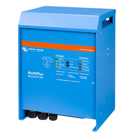 INV-M24-5000-120-100-s Victron Quattro Inverter/Charger — Available from Durst Industries Australia