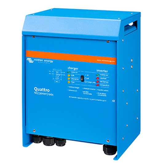 INV-Q12-5000-220-100-100-s Victron Quattro Inverter/Charger — Available from Durst Industries Australia