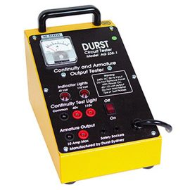 Armature / Commutator Tester AG-238 — Australian Made by Durst Industries