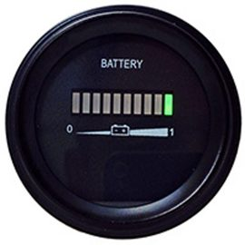 Battery Meter Accessories 12 Volt Meter BA-MV005 — Available from Durst Industries Australia