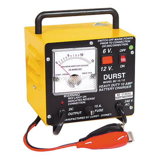 BC-1012 Battery Charger Carry — Australian Made by Durst Industries