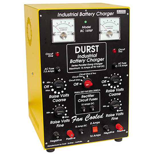 Industrial Battery Charger — Durst BC-1696-s — Australian Made by Durst Industries