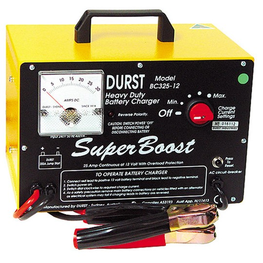 Battery Charger BC-325-12 — Australian Made by Durst Industries