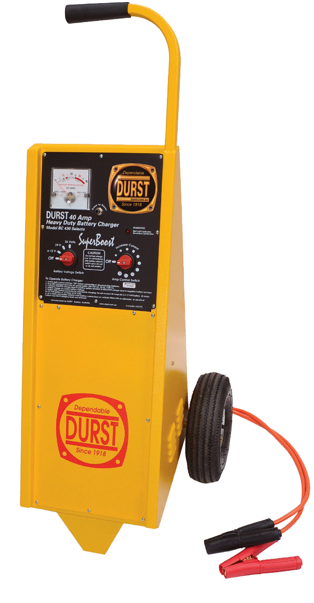 BC-430T Industrial Workshop Battery Chargers Trolley