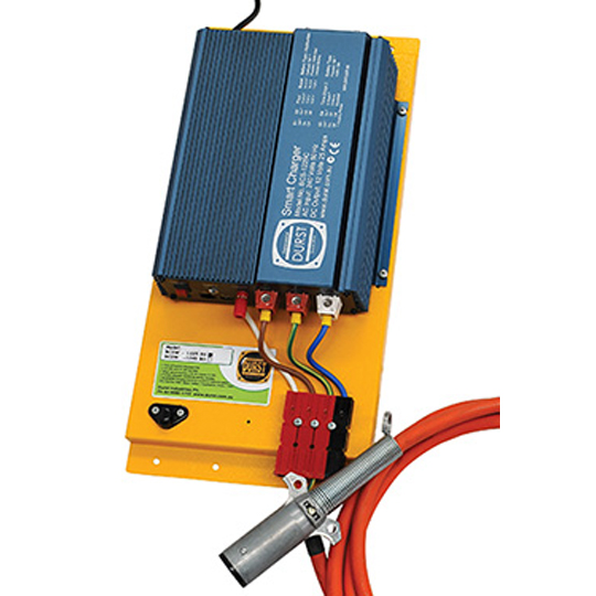 Wall Mount Battery Charger BCSW-1225BS — available from Durst Industries Australia