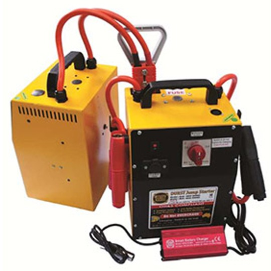 Portable Jump Starter HIPPO TWIN BJC-4800 — Australian Made by Durst Industries