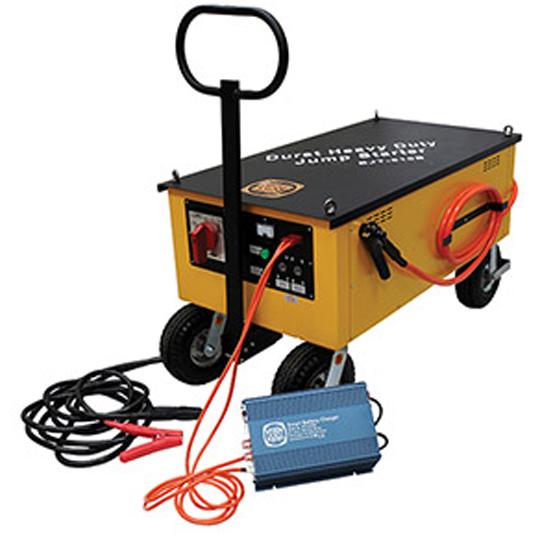 BJT-520B Mobile Jump Starter BIG MOTHER + Heavy Duty Jump Starter for Trucks, buses, etc