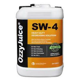 OzzyJuice® DSW-SW4 for SmartWasher solvent free parts washing — Available from Durst Industries Australia