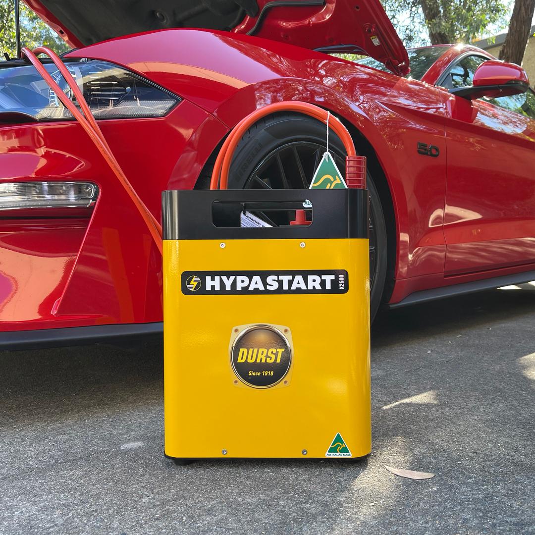 HYPASTART 12/24V Jump Starter for diesel and petrol vehicles