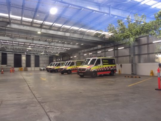 Bega Ambulance Power Bay