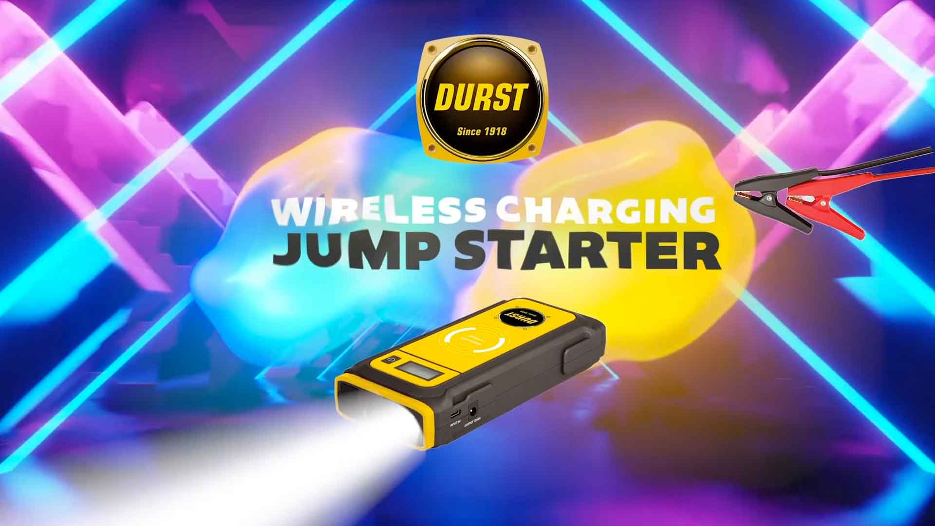 Jump Starter Wireless Charging banner