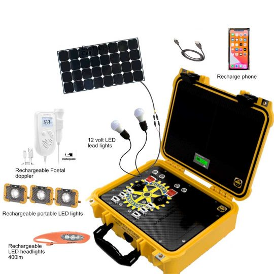 Durst Rotary Solar Case for solar charging, convenient and portable
