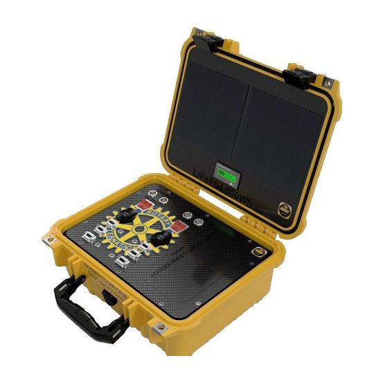 Durst Rotary Solar Case for solar charging, portable