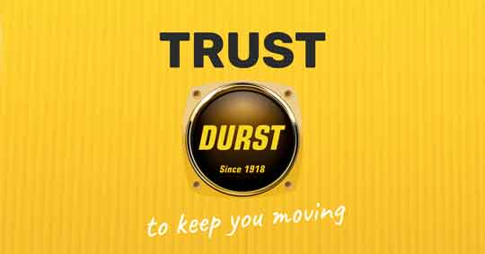 Trust Durst to keep you moving