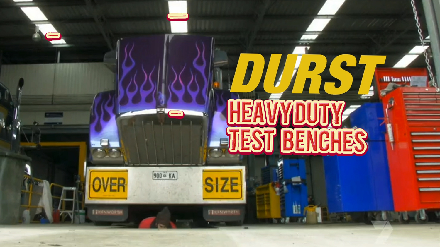 Electronic Diagnostic Test Benches for truck and bus workshops